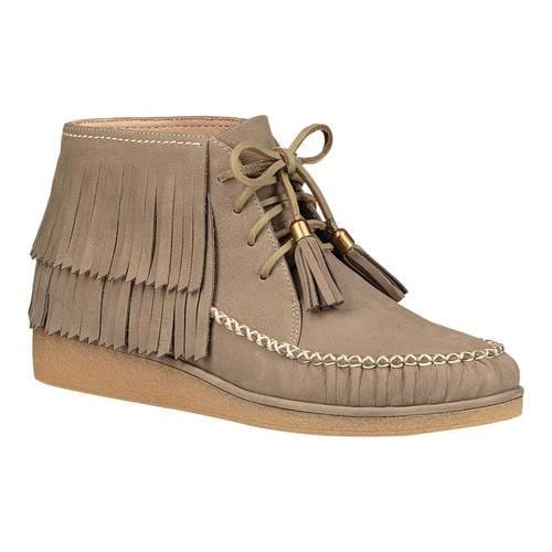 8e22957fe510 Shop Women s UGG Caleb Fringe Boot Mouse Nubuck - Free Shipping Today -  Overstock - 18038978