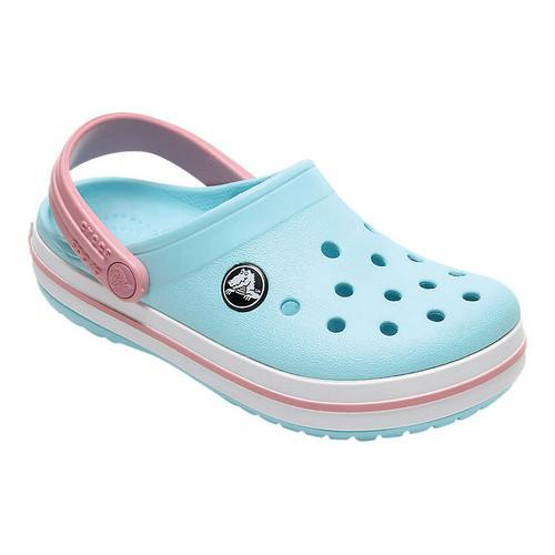 65fd07527bd7c0 Shop Children s Crocs Crocband Clog Kids Ice Blue White - Free Shipping On  Orders Over  45 - Overstock - 18040102