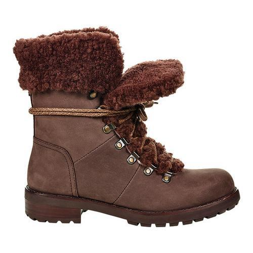 b1418a0fded Women's UGG Fraser Leather Boot Stout Leather