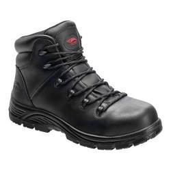 Men's Avenger A7223 Composite Toe PR EH Waterproof Hiker Boot Black Full Grain Crazy Horse Leather