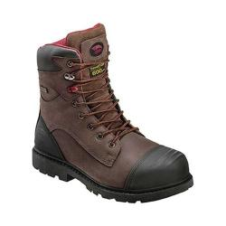 Men's Avenger A7573 8in Insulated WP Carbon Toe PR EH Work Boot Brown Full Grain Crazy Horse Leather (More options available)