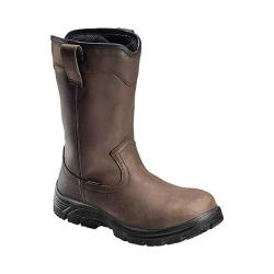 Men's Avenger A7846 11in Comp Toe EH Waterproof Wellington Boot Brown Full Grain Leather/Cordura