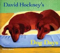 David Hockney's Dog Days (Paperback)