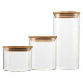 TRINITY Glass Canister - Set C