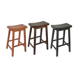 Saddle Seat 29-inch Bar Stools (Set of 2)