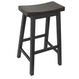 Shop Saddle Seat 29-inch Bar Stools (Set of 2) - Free Shipping Today ...