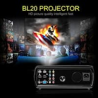 Home Cinema 3D Video Projector 2600 Lumen Support 1080P Full HD