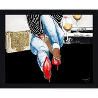 """Waiting On You"" by BY Jodi Framed Print Under Glass"