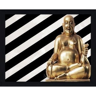 """""""Lucky Budda"""" by BY Jodi Framed Print Under Glass (2 options available)"""