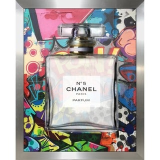 """Chanel 2016 I"" by BY Jodi Framed Print Under Glass"