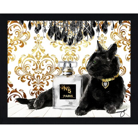 """Black Beauty"" by BY Jodi Framed Print Under Glass"