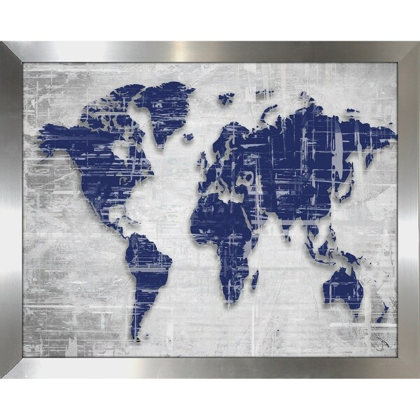 Shop moody blue world copy by by jodi framed print under glass moody blue world copy by by jodi framed print under glass gumiabroncs Choice Image