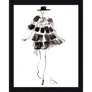 """""""Eva Two"""" by BY Jodi Framed Print Under Glass (2 options available)"""