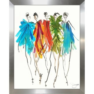 """On Fleek 1"" by BY Jodi Framed Print Under Glass"