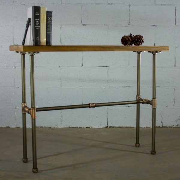 Furniture Pipeline Corvallis Industrial Chic Pipe Entryway Hall Console/Sofa Table. Opens flyout.