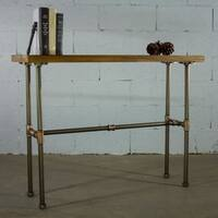 Furniture Pipeline Corvallis Industrial Chic Pipe Console Table
