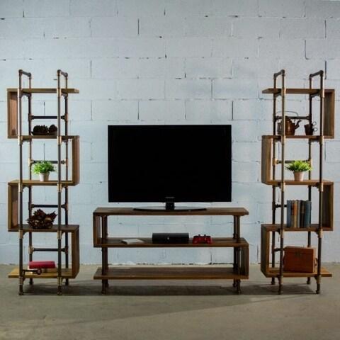 Furniture Pipeline Tucson Modern Industrial TV/Media Stand Center