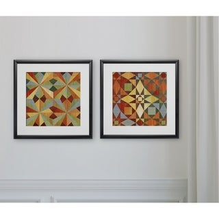 Kaleidoscope Quilt -2 Piece Set