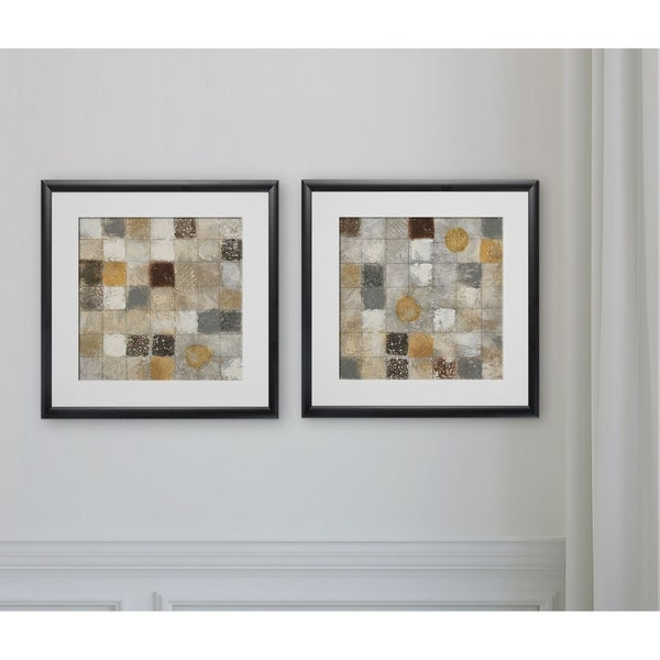 Metallic Mosaic -2 Piece Set