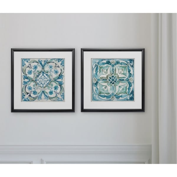 Carribean Tile -2 Piece Set