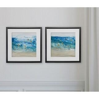 Sea Glass Summer I -2 Piece Set