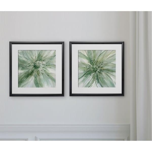 Macro Sage Flower -2 Piece Set