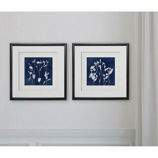 Cyanotype Botanical I -2 Piece Set