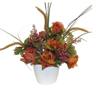 Autumn Mixed Floral Arrangement