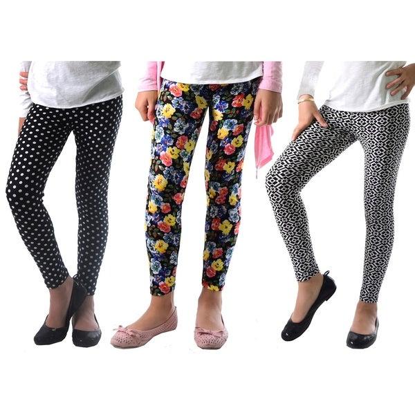 2 Packs Fashion Little Girls Spring Legging Pants 6 7 Yrs Leggings Girls