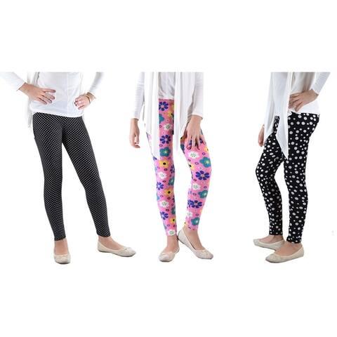 Girls fun Printed Leggings Soft Light and Fun