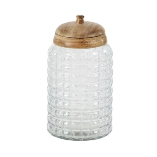 Set of 3 Traditional 8, 9, and 11 Inch Round Glass Box