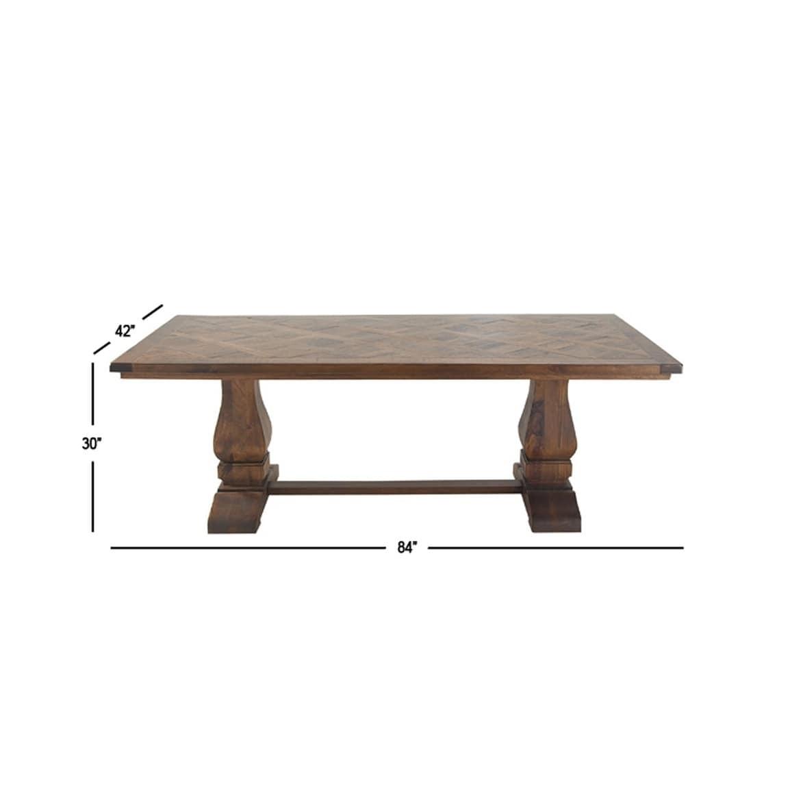 Awe Inspiring Studio 350 Mahogany Finished Mango Wood Traditional Dining Table Uwap Interior Chair Design Uwaporg