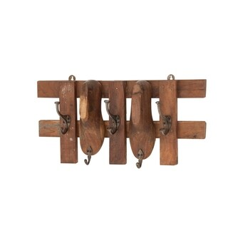 Link to Rustic 11 x 24 Inch Vintage Shoe Hanger Similar Items in Storage & Organization