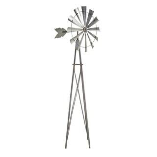 Farmhouse 102 x 39 Inch Galvanized Iron Windmill