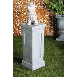 Farmhouse 30 x 12 Inch Gray Rectangular Pedestal by Studio 350