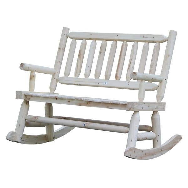 Wooden Rocking Chair With Natural Material Comfortable