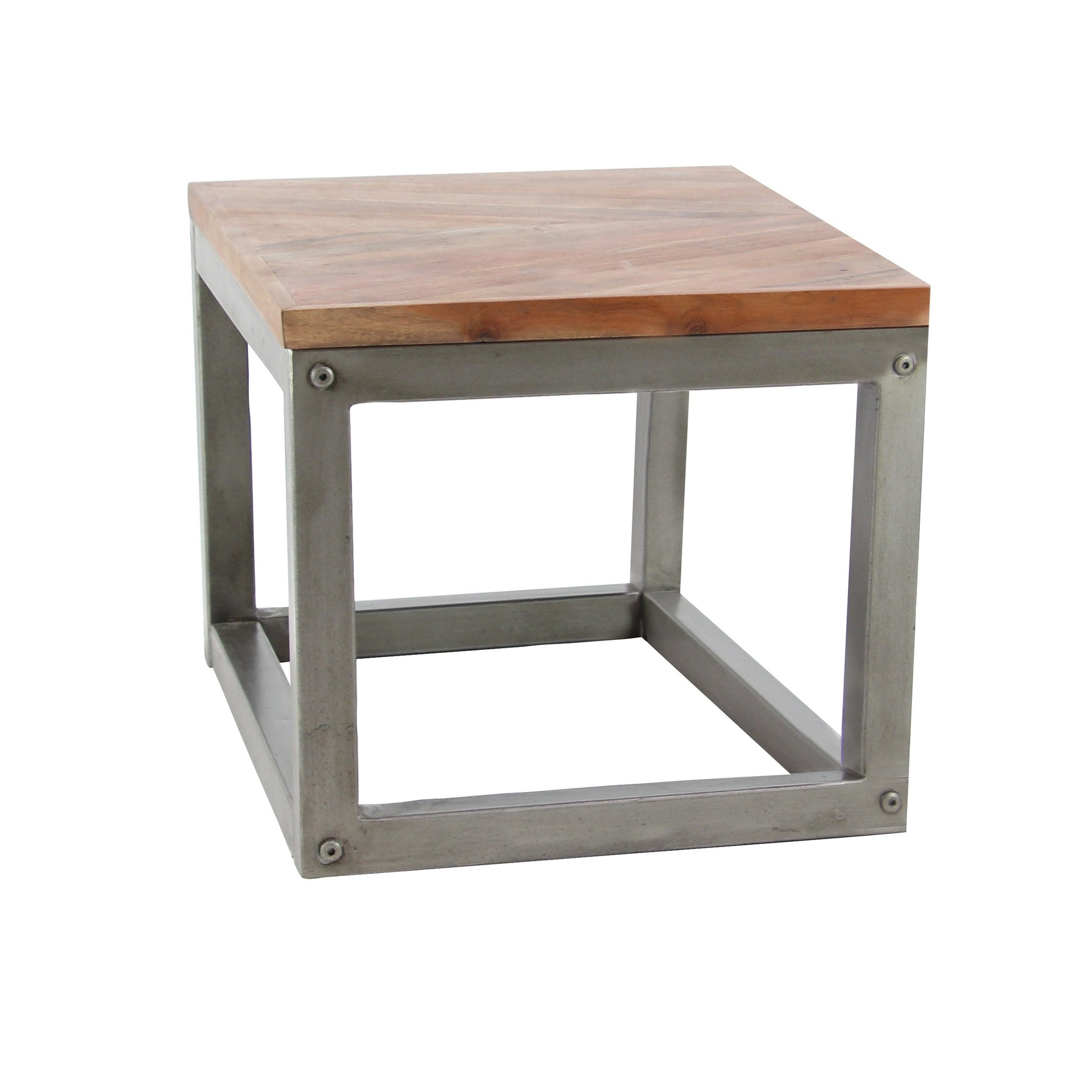 Shop Modern 26 x 24 Inch Square Side Table - Overstock - 20445481