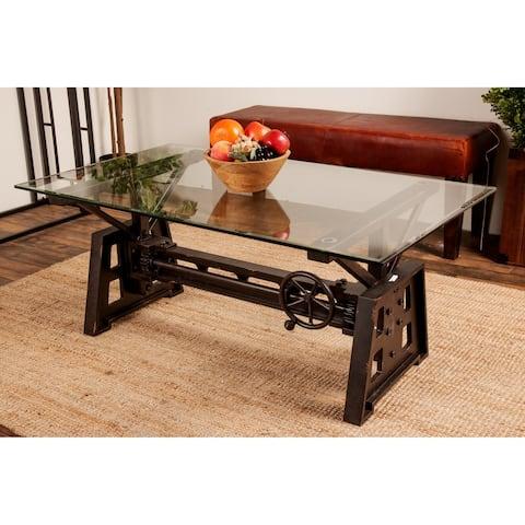 Industrial Grey Mechanical Coffee Table
