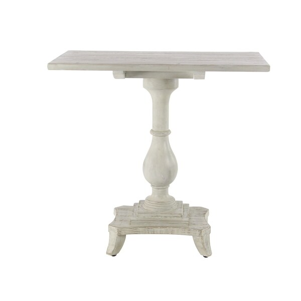 Traditional Pine Coffee Table: Shop Traditional 30 X 31 Inch Rectangular Pine Wood End