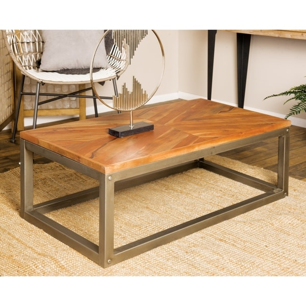 Modern 16 X 42 Inch Rectangular Coffee Table