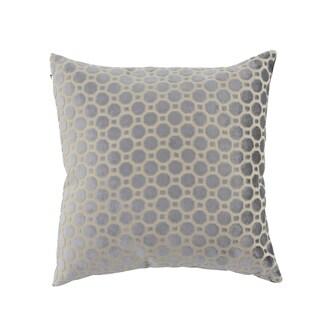 Modern 23 x 23 Inch White Pillowcase with Geometric Patterns