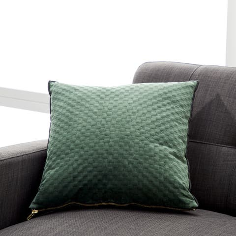 Studio 350 Military Green 17-inch Square Pillowcase