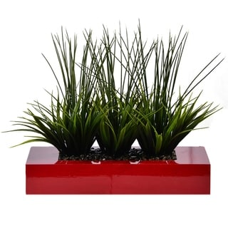 14 Inches High Decorative Grass in Pot