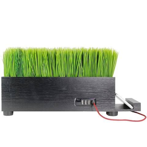 USB Charging Station HUB- 4 Port Powerplant- Baby Grass