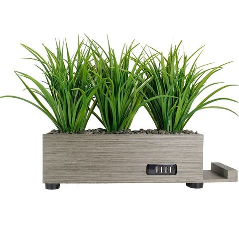 Artificial Plant with USB Planter