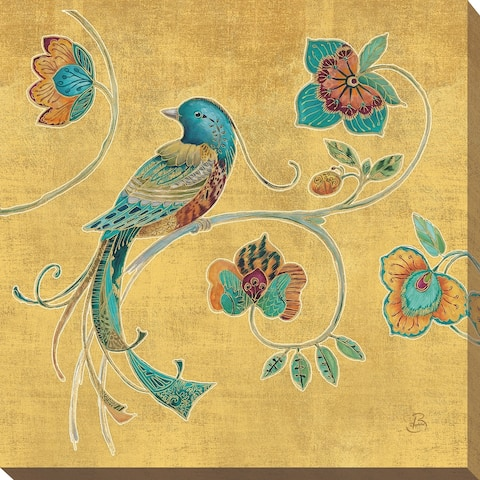 """Daphne Brissonnet """"Bohemian Wings I"""" Giclee Stretched Canvas Wall Art"""