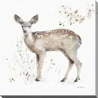 "Lisa Audit ""A Woodland Walk IX"" Giclee Stretched Canvas Wall Art"