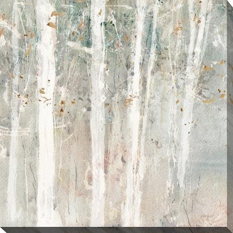 "Lisa Audit ""A Woodland Walk II"" Giclee Stretched Canvas Wall Art"