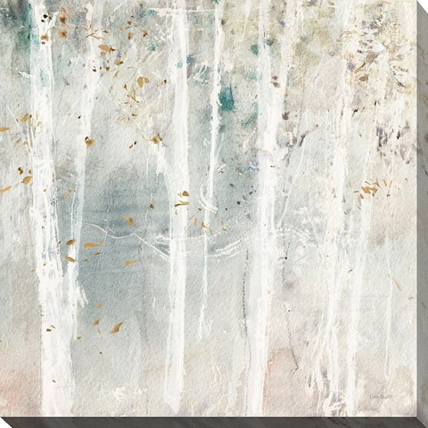 "Lisa Audit ""A Woodland Walk III"" Giclee Stretched Canvas Wall Art"