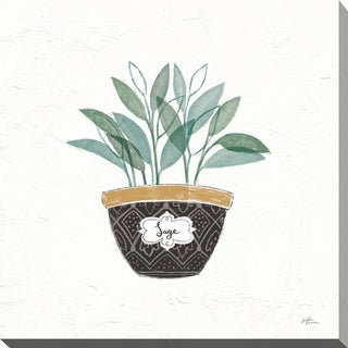 """Link to Janelle Penner """"Fine Herbs VII"""" Giclee Stretched Canvas Wall Art Similar Items in Canvas Art"""